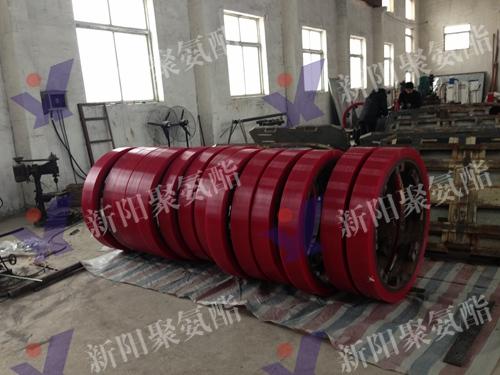 聚氨酯重载轮 (2)