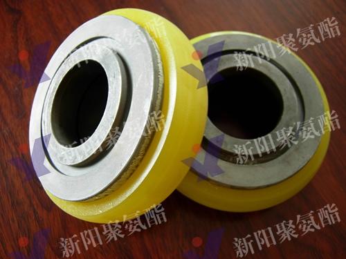 输送线包胶轮 (4)